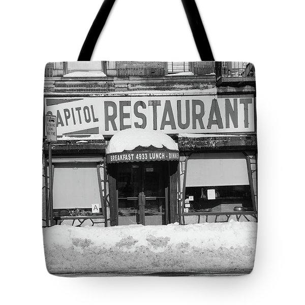 Capitol Winter Tote Bag