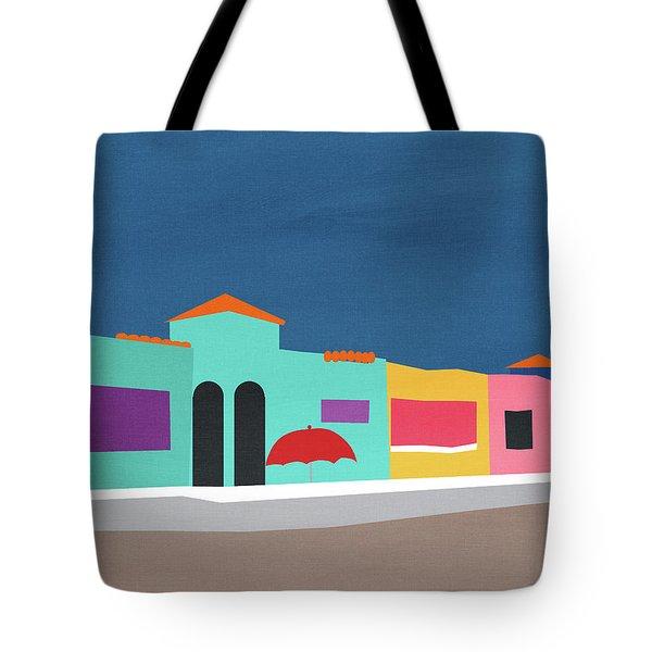 Capitola Venetian- Art By Linda Woods Tote Bag
