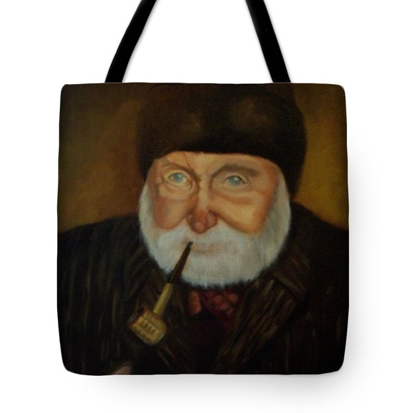 Cap'n Danny Tote Bag by Marlene Book