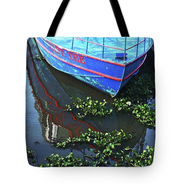 Cap'n Tee Henderson Swamp Tote Bag by Lizi Beard-Ward