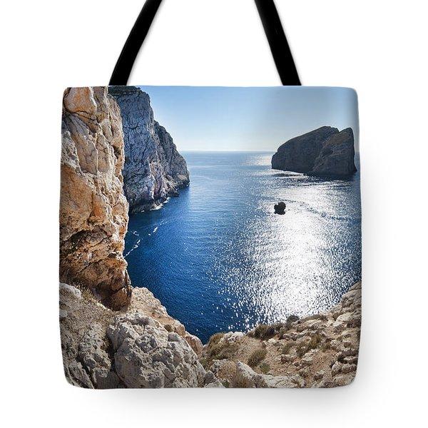 Capo Caccia Tote Bag by Robert Lacy