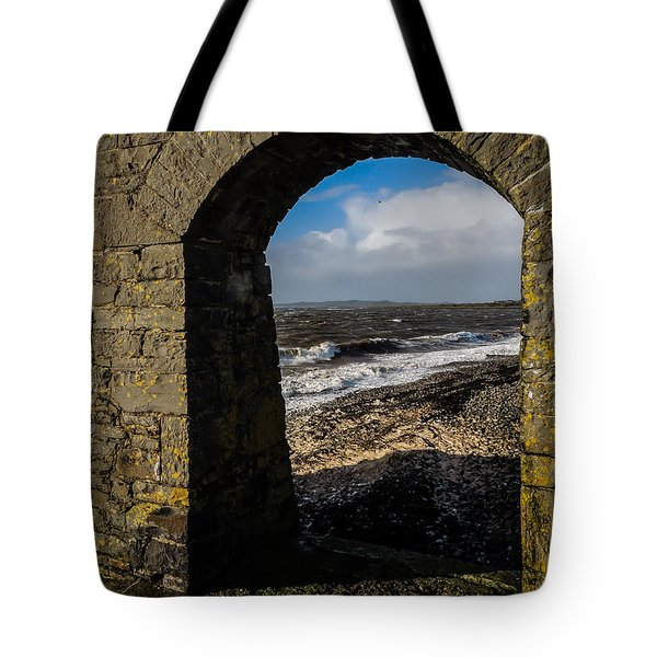 Cappagh Pier And Ireland's Shannon Estuary Tote Bag