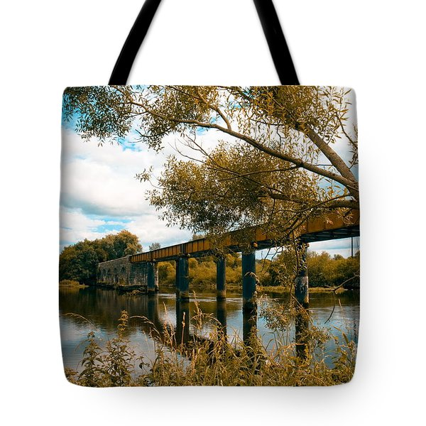 Cappaquin Railway Bridge Tote Bag