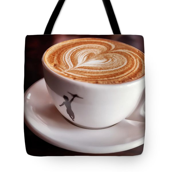 Tote Bag featuring the photograph Cappuccino by Anthony Citro