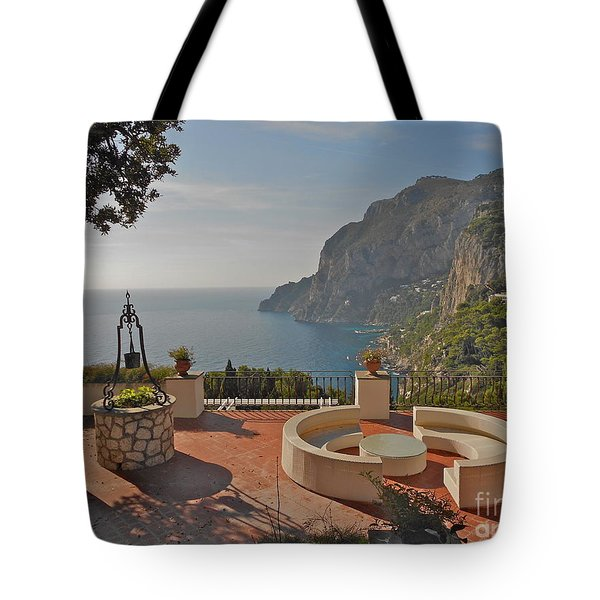 Capri Panorama Tote Bag