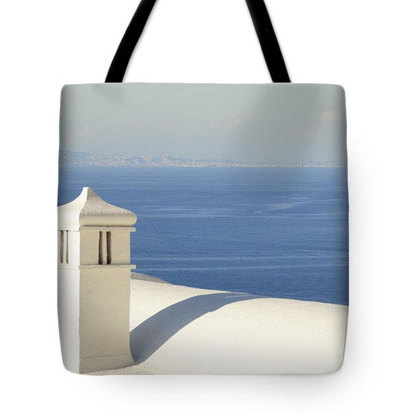Tote Bag featuring the photograph Capri by Silvia Bruno