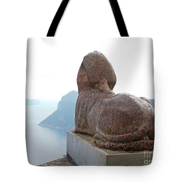 Capri, Villa San Michele 1 Tote Bag