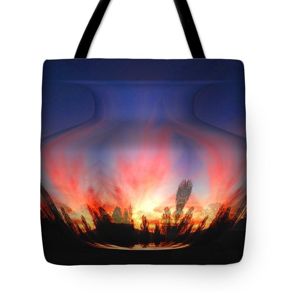 Capricorn Morning Tote Bag by Joyce Dickens