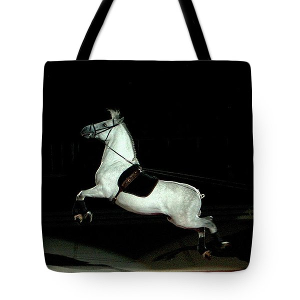 Tote Bag featuring the photograph Capriole by Joan Hartenstein
