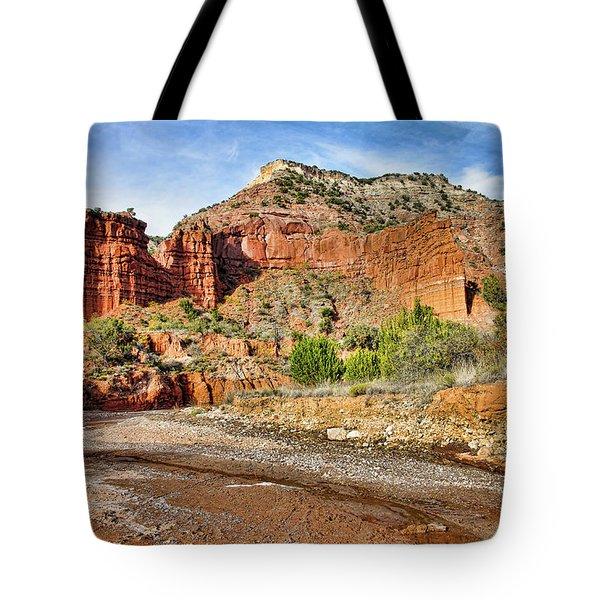 Caprock Canyon Tote Bag