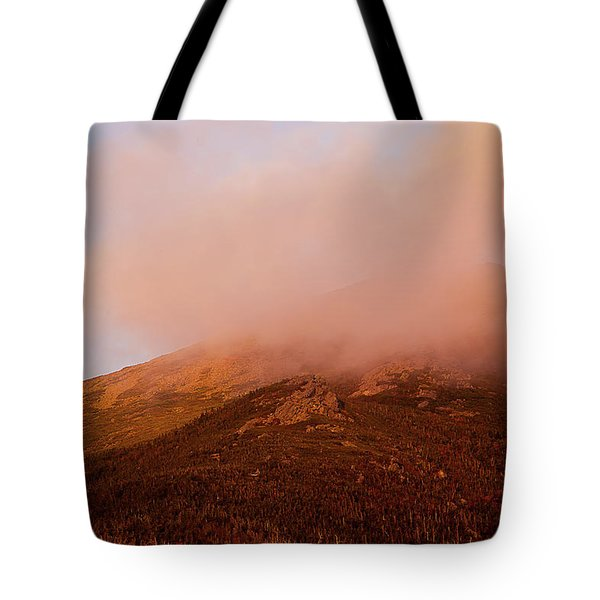 Caps Ridge Sunset Tote Bag