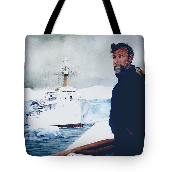 Capt Derek Law Tote Bag by Tim Johnson