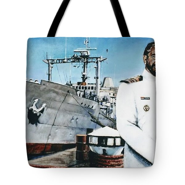Capt Eric Green Tote Bag by Tim Johnson