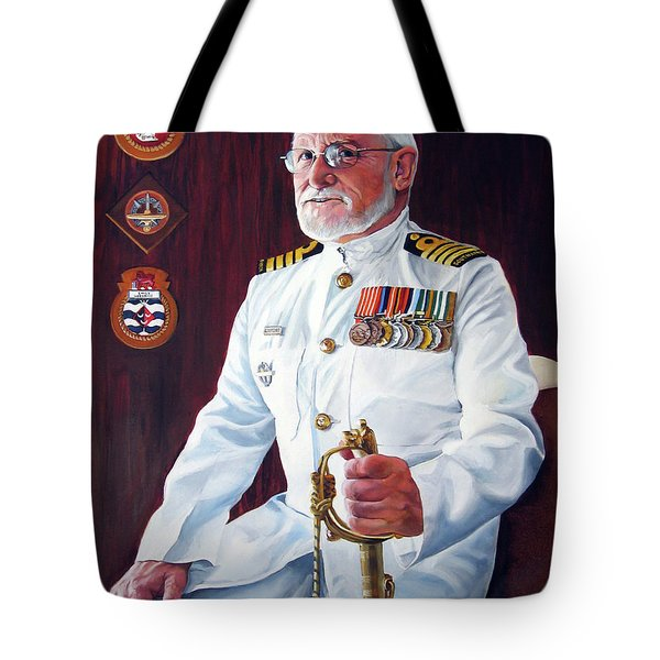 Capt John Lamont Tote Bag by Tim Johnson