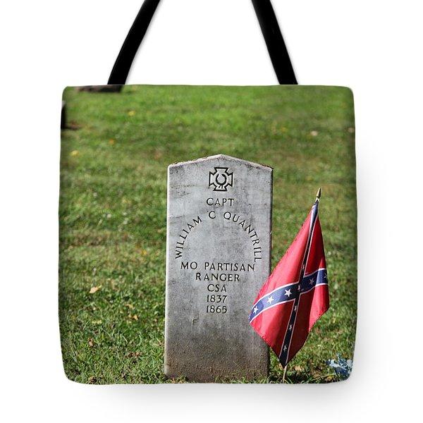 Capt Quantrill Tote Bag