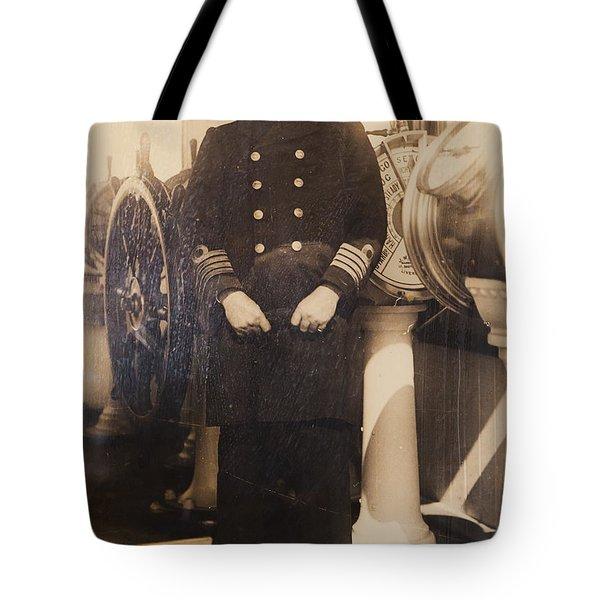 Captain Edward John Smith, Rd Rnr Tote Bag