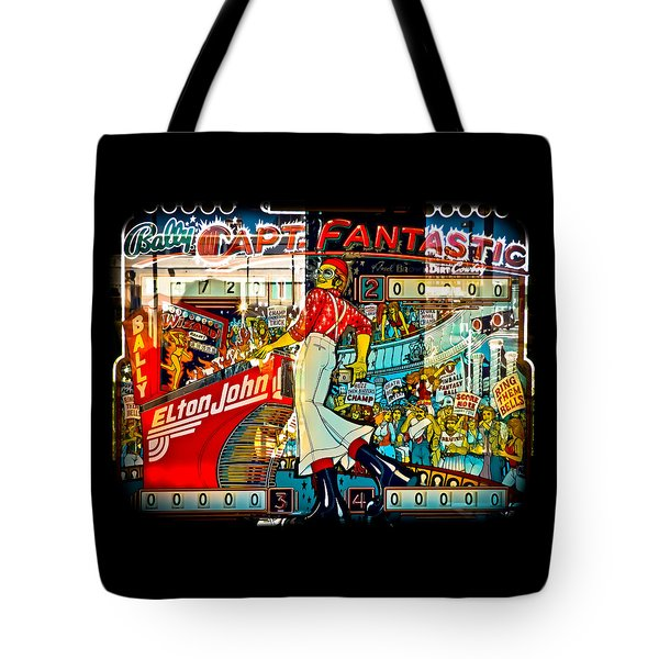 Captain Fantastic - Pinball Tote Bag by Colleen Kammerer