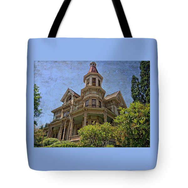 Tote Bag featuring the photograph Captain George Flavel House by Thom Zehrfeld