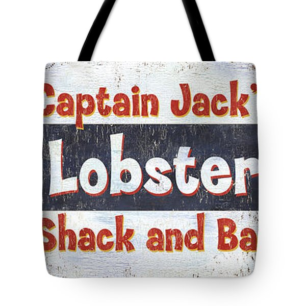 Captain Jack's Lobster Shack Tote Bag