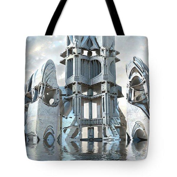 Captain Nemo's Palace Tote Bag