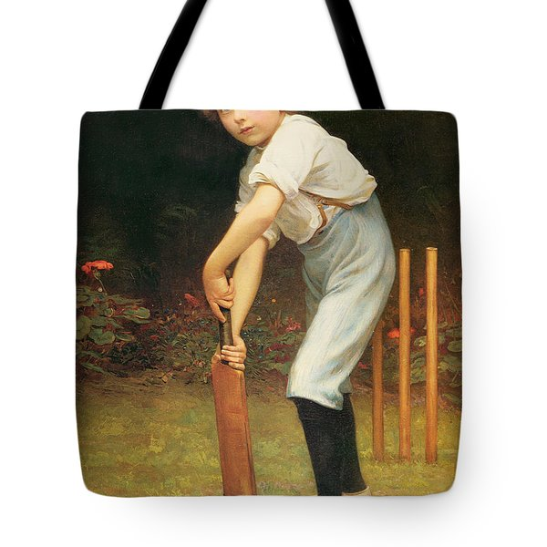 Captain Of The Eleven Tote Bag by Philip Hermogenes Calderon