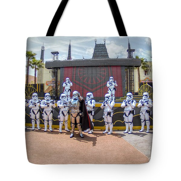 Captain Phasma And The First Order Tote Bag