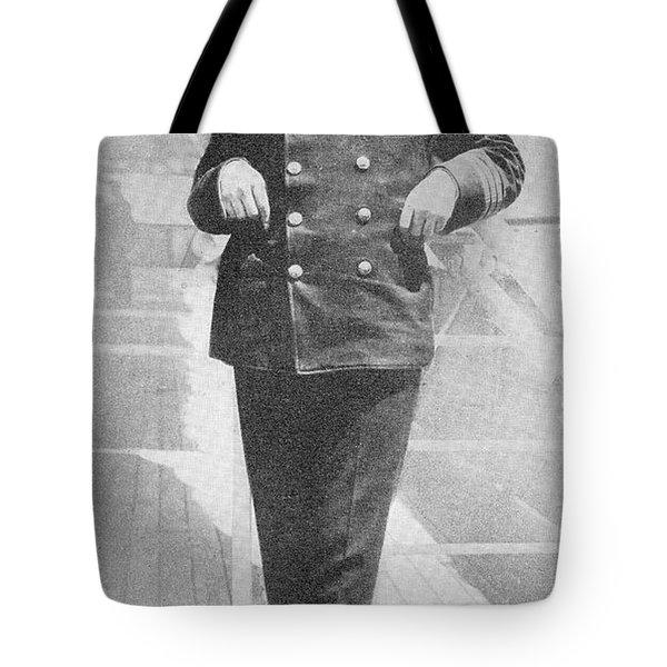 Captain Sir Arthur Henry Rostron Kbe Rd Tote Bag