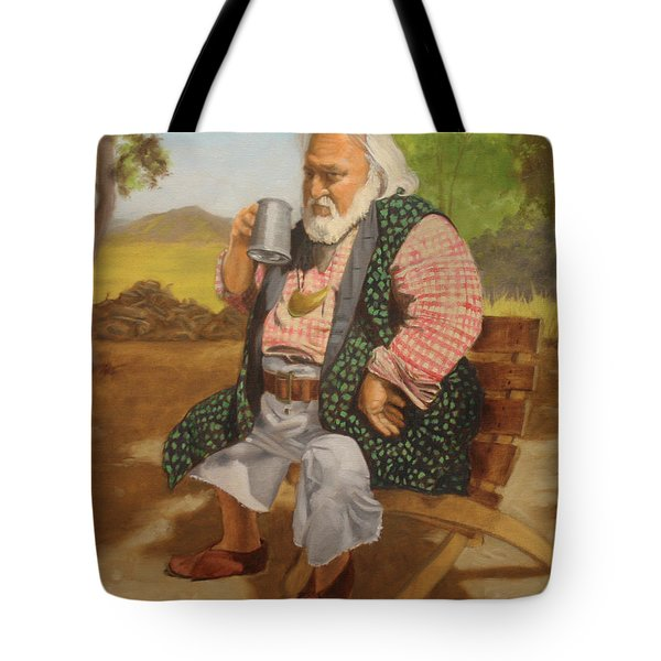 Captain Terry Tote Bag