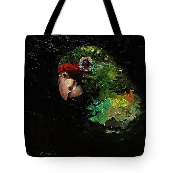 Captain The Parrot Tote Bag