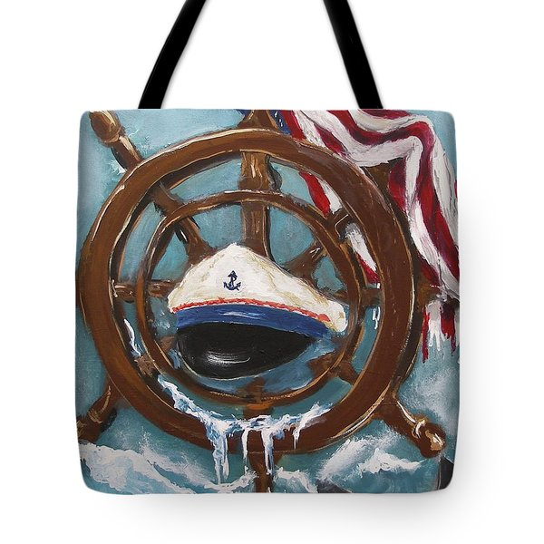 Captain's Home Tote Bag