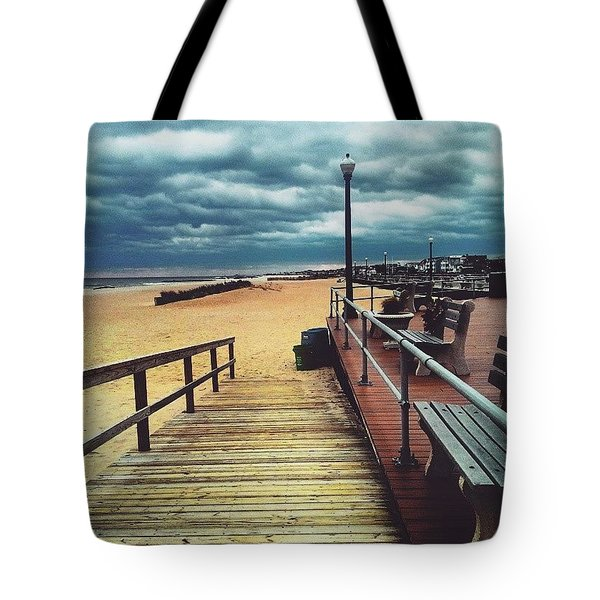 Captivating Clouds Tote Bag by Lauren Fitzpatrick