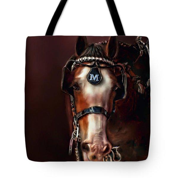 Captivating Smile Tote Bag