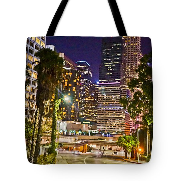 Captive In The City Light Embrace Tote Bag