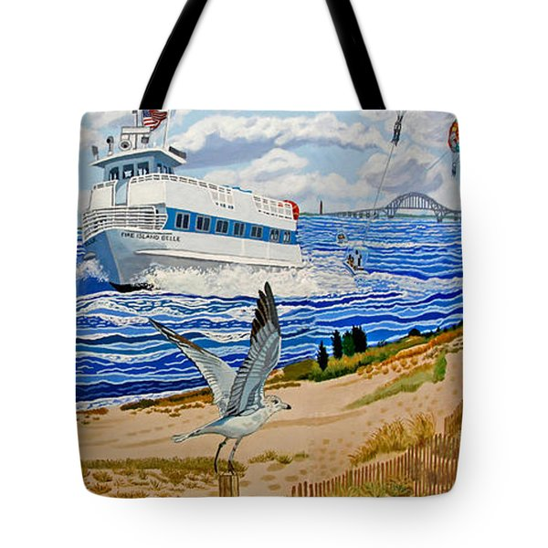Captree Park Tote Bag