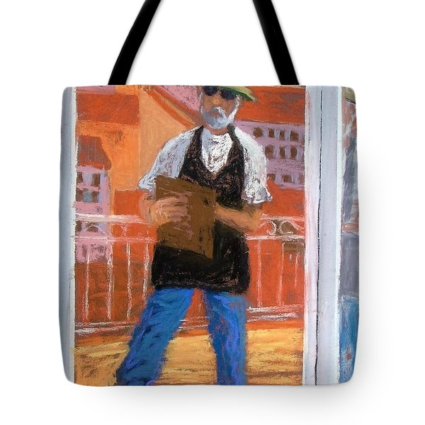 Captured In Antibes Tote Bag