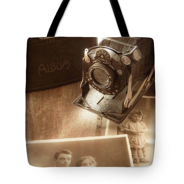 Captured Memories Tote Bag