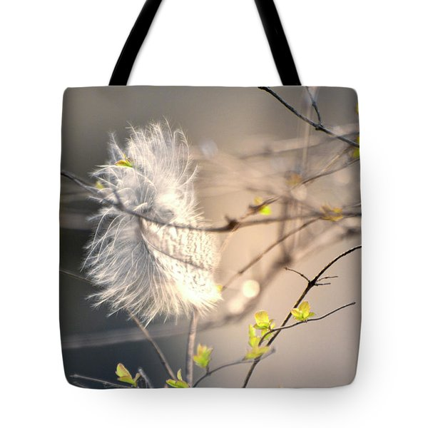 Captured Small Feather_03 Tote Bag