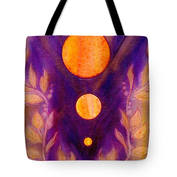 Captured Spirit Tote Bag by Desiree Paquette