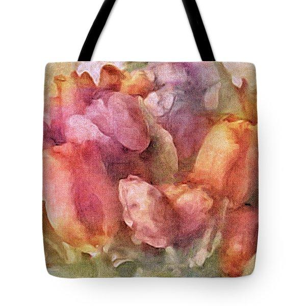 Captured Spring Tote Bag