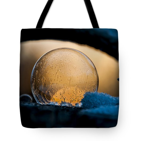 Captured Sunrise Tote Bag
