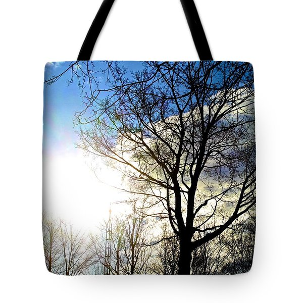 Capturing The Morning Sun Tote Bag