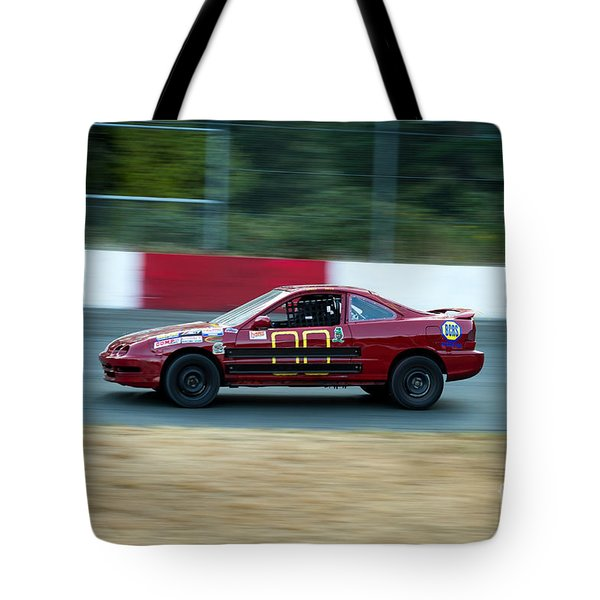 Car 00 In The Turn Tote Bag