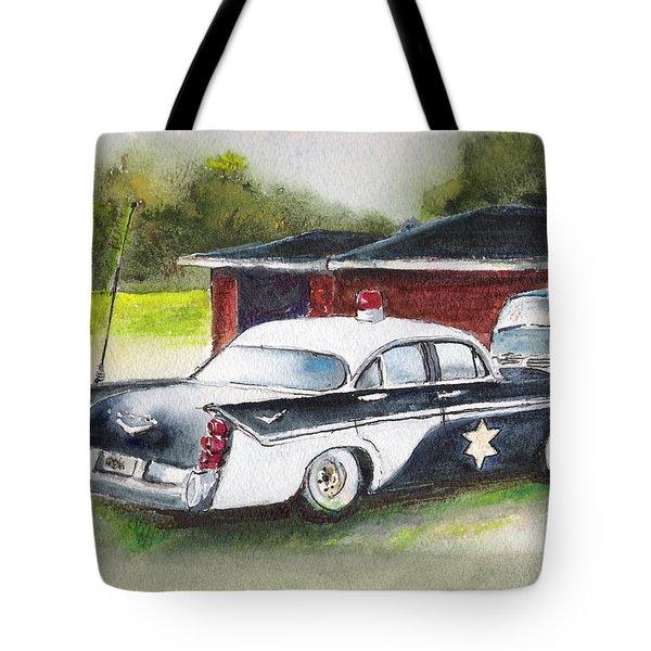 Car 54 Where Are You ? Tote Bag