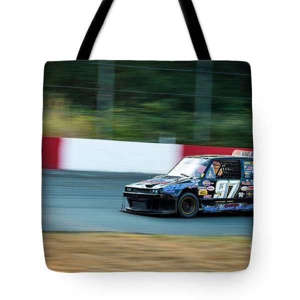 Car 97 Rounds The Corner Tote Bag