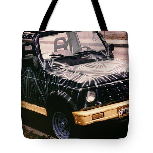 Car Art Tote Bag