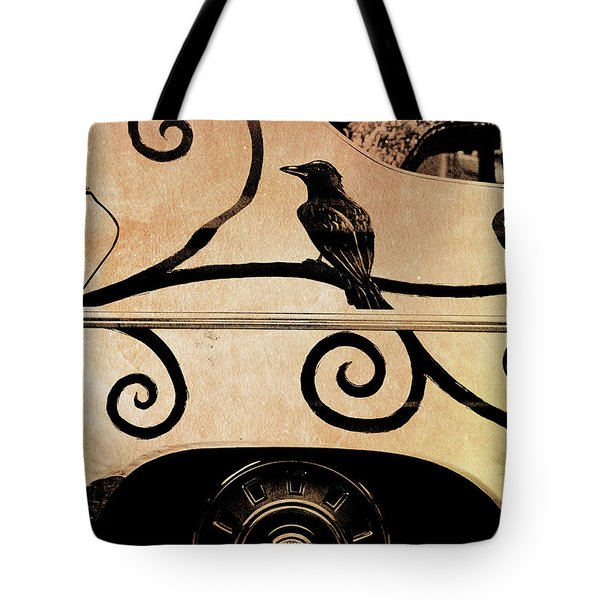 Car Art Tote Bag