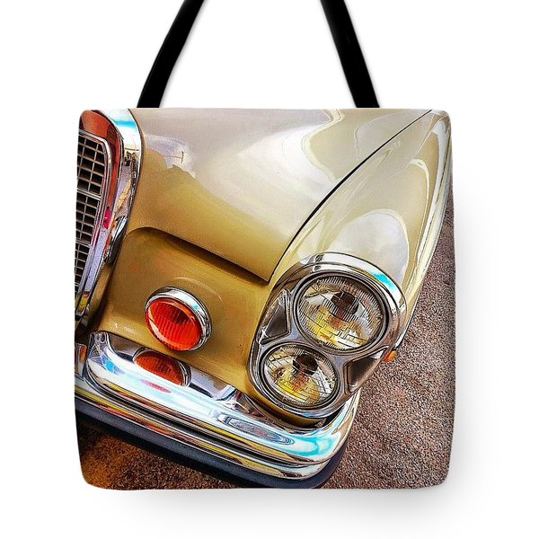 Car Corner Peek-a-boo. #carcorner Tote Bag