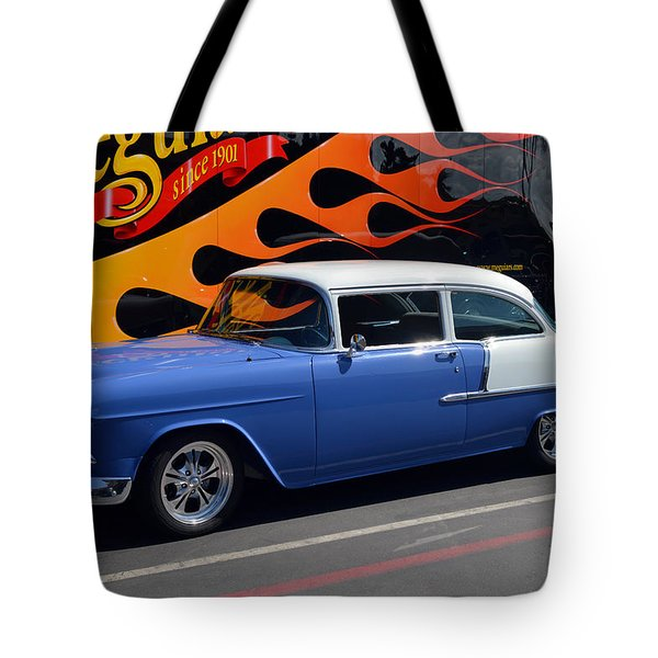 Car Crazy 55 Tote Bag by Bill Dutting