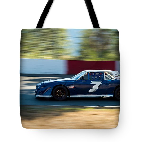 Car In The Corner. Tote Bag
