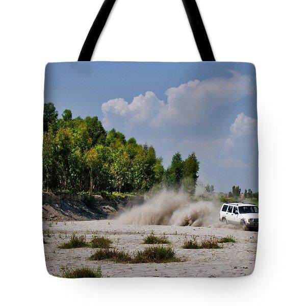 Car Rally Tote Bag